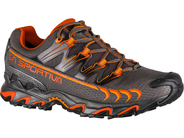 La Sportiva Ultra Raptor GTX Chaussures de trail Homme, carbon/pumpkin